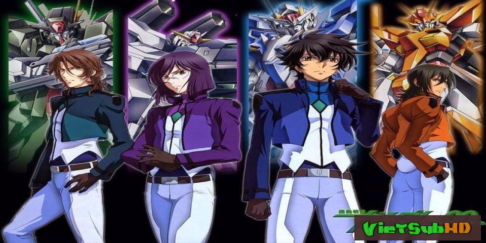 Phim Mobile Suit Gundam 00 SS2 Full 25/25 VietSub HD | Mobile Suit Gundam 00 SS2 2013