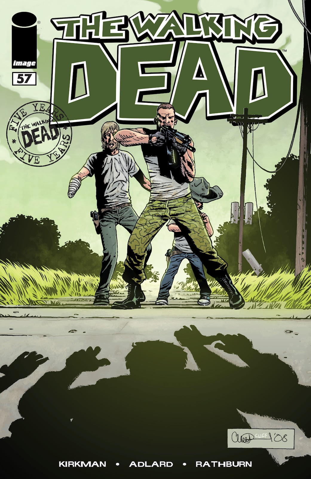 The Walking Dead issue 57 - Page 1