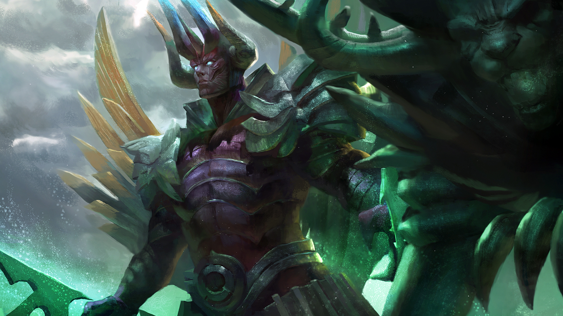 Terrorblade Hellion Lord Wallpaper HD