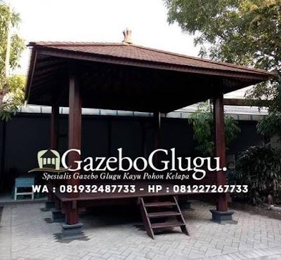 Gazebo Kayu