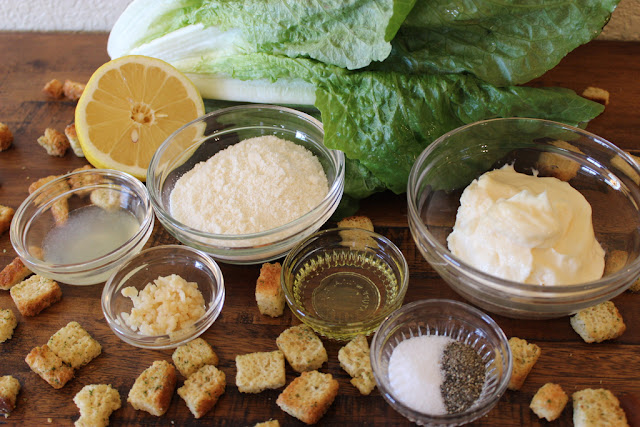 Better than bottled salad dressing, this simple homemade caesar salad dressing takes less than 10 minutes to make.
