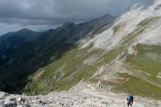 Przełęcz Premkata (bułg. Премката; 2660 m n.p.m.).