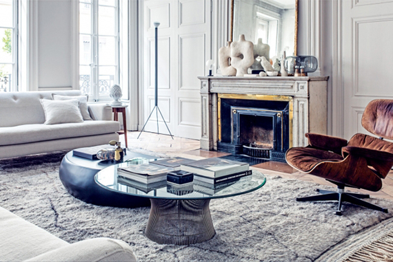 Gorgeous contemporary eclectic apartment | Image by Felix Forest for Vogue Living