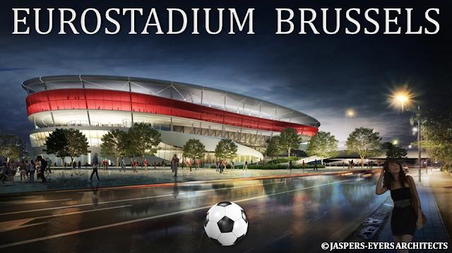 EUROSTADIUM BRUSSELS - Nouveau stade national de football à Grimbergen - Suite du feuilleton rocambolesque de 2015 à...- Bruxelles-Bruxellons