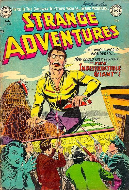 Strange Adventures (1950) issue 28 - Page 1