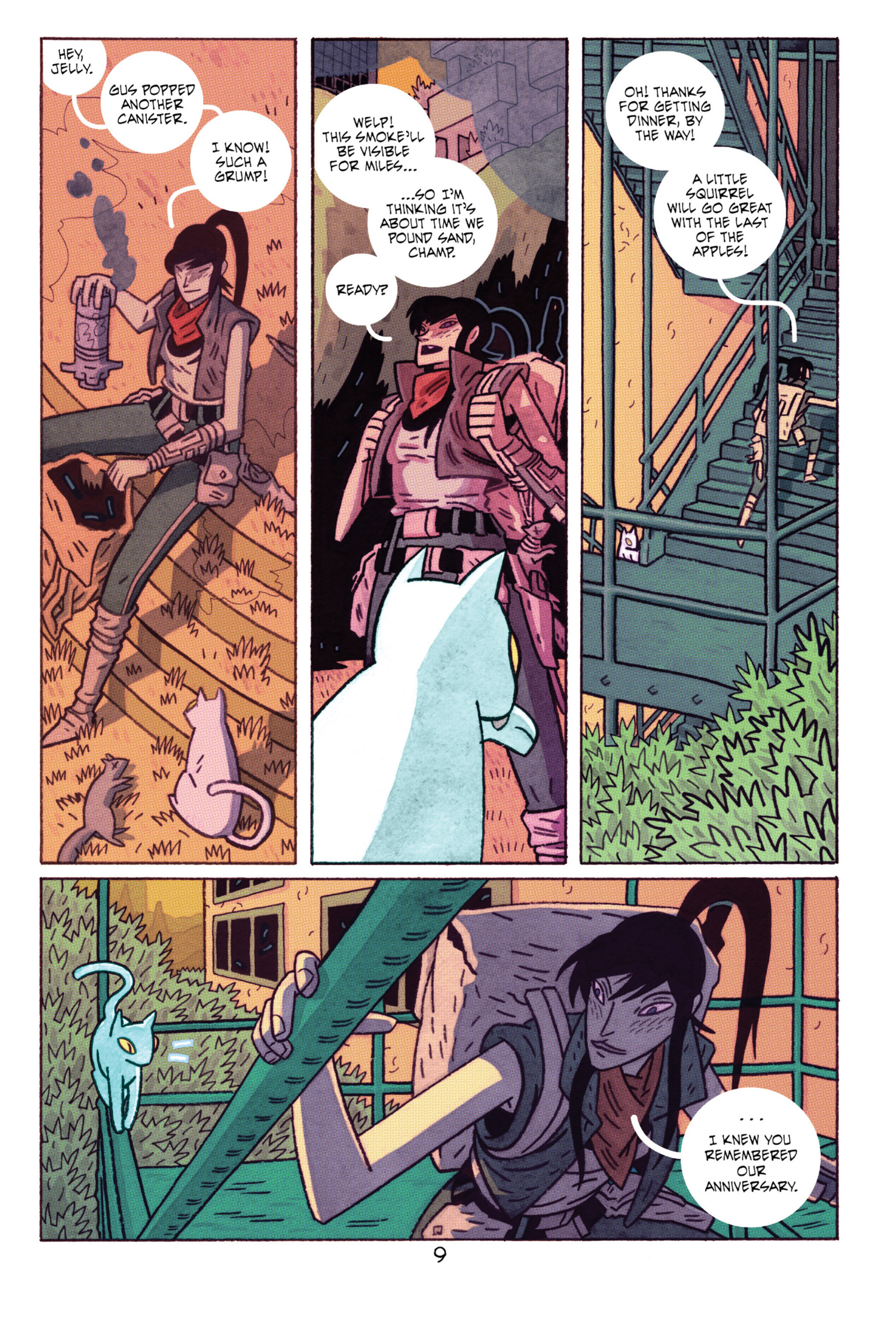 Read online ApocalyptiGirl: An Aria for the End Times comic -  Issue #ApocalyptiGirl: An Aria for the End Times Full - 17