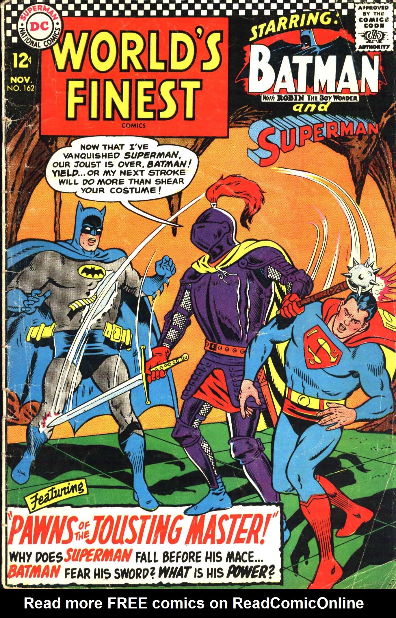 Read online World's Finest Comics comic -  Issue #162 - 1
