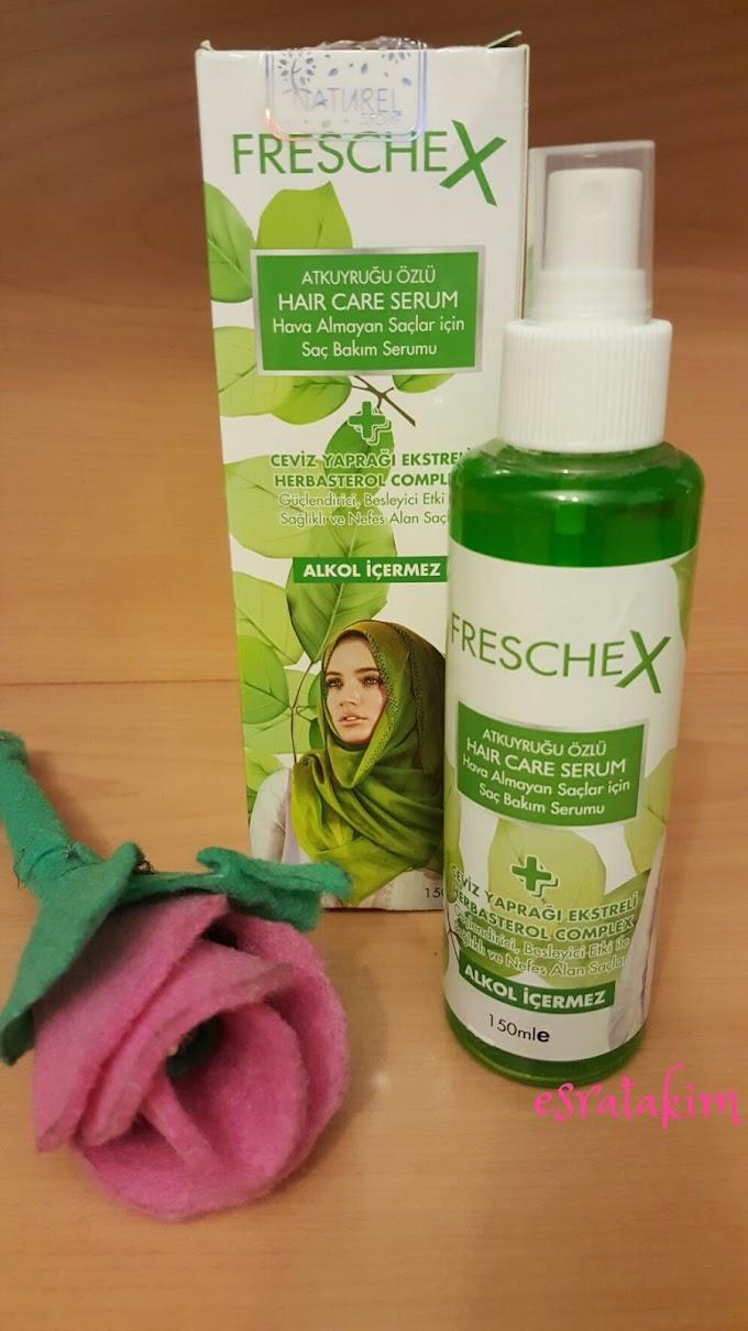 Freschex Atkuyruğu Özlü Hair Care Serum, Hava Almayan Saçlar İçin Saç Bakım Serumu