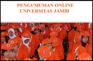 Pengumuman Online UNJA 2019/2020