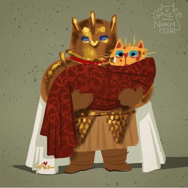 Игра престолов в котейках (8 фото)