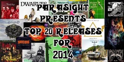 Top 20 Releases For 2014 by Parasight