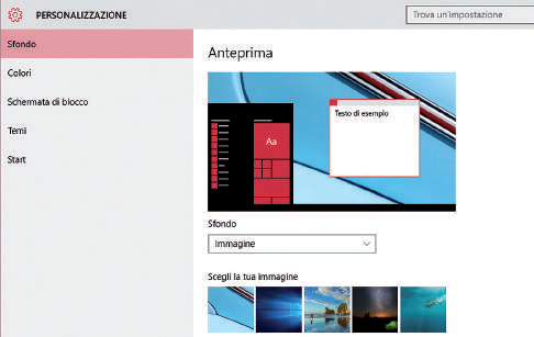 Come customizzare Windows 10 a vostro Gusto