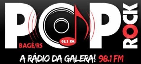 Rádio Pop Rock FM 98,1 de Bagé - Rio Grande do Sul Ao Vivo