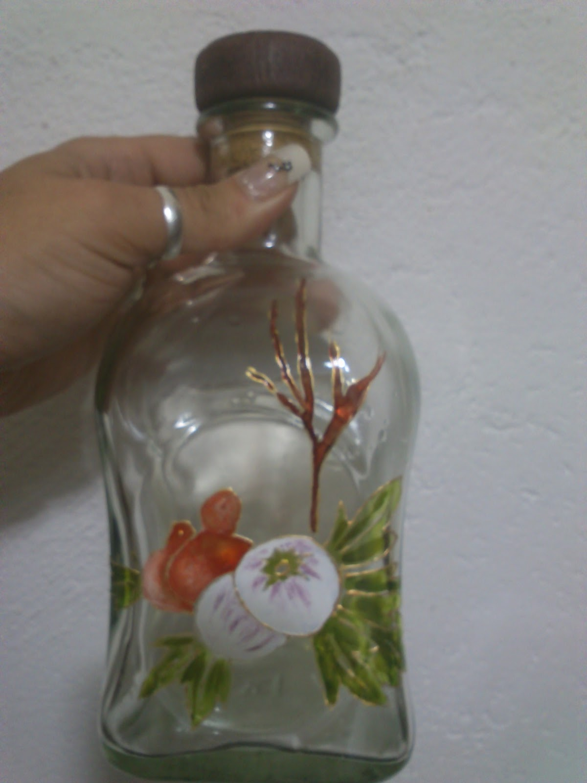 Comprar Botellas Decoradas El Blog De Crocosmia Botellas Pintadas A Mano