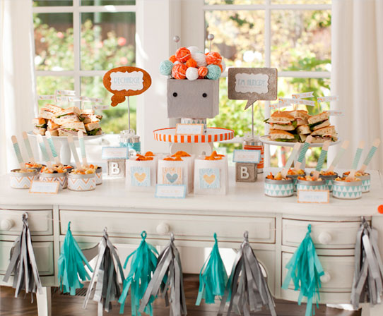 Baby Shower Theme Idea Bundle Of Bots Baby Shower From