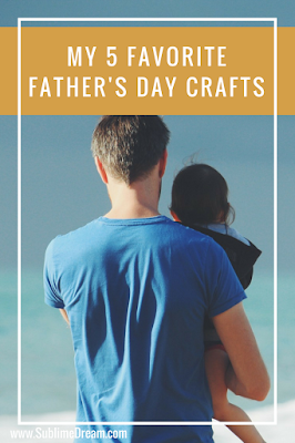 Free and inexpensive Father's day crafts that are adorable.  You'll love them!