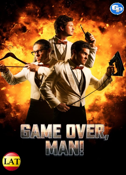 ¡Game Over, Man! (2018) LATINO