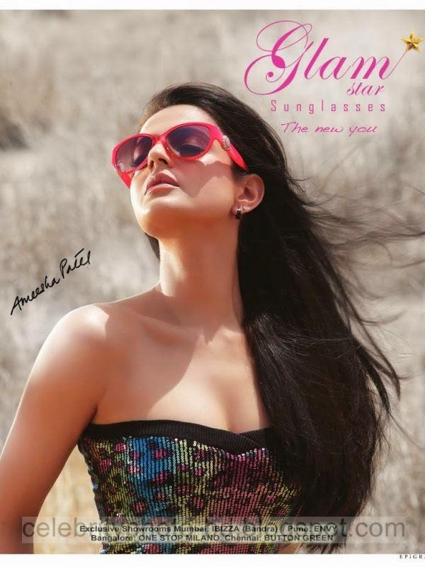 Anushka Sharma and Ameesha Patel In Bikini Stills Photos Collection 2014-2015