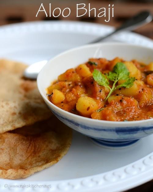 Aloo bhaji recipe no onion no garlic side dish for poori raks aloo bhaji recipe no onion no garlic side dish for poori forumfinder Images