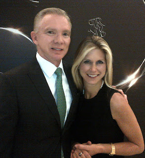 Marla Malcolm Beck, Bluemercury CEO and co-founder, with ReVive founder Dr. Greg Brown