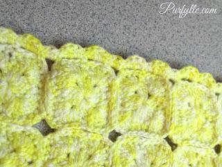 1970's Crochet motif pattern