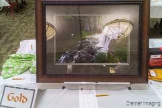 Cramer Imaging's quality landscape photograph of Upper Mesa Falls for sale in the Grand Teton Council annual holiday auction