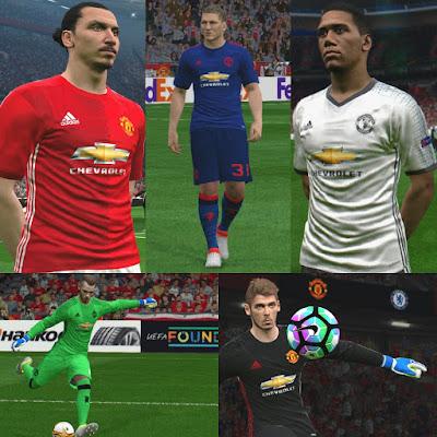 Manchester United 16/17 Kits