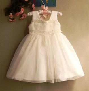 Model Baju Pesta Anak Perempuan