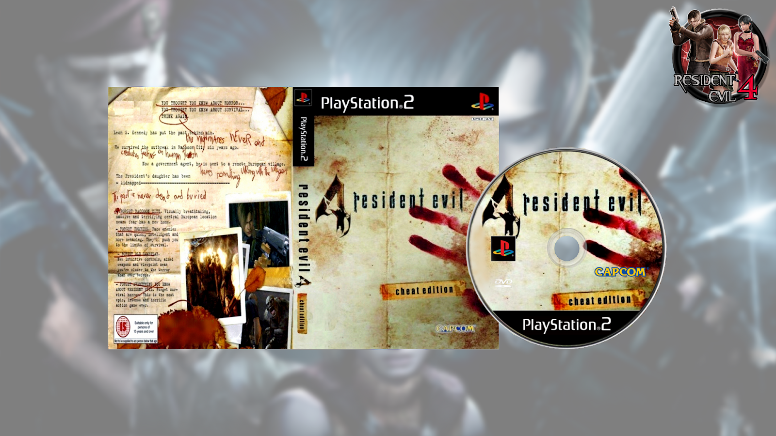 Resident Evil 4 Cheat Edition Ps2 Knowledgefasr
