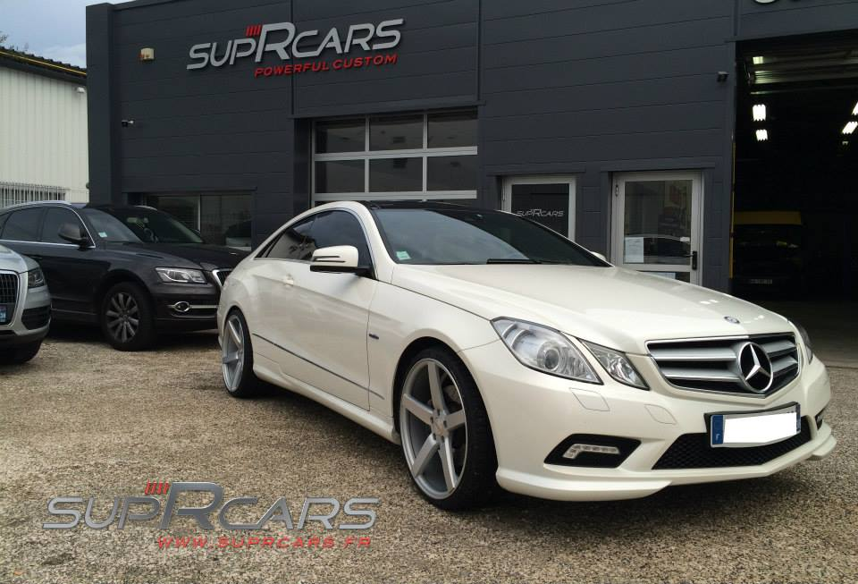 le blog de suprcars france personnalisation de v hicules de luxe mercedes classe e 350 cdi. Black Bedroom Furniture Sets. Home Design Ideas