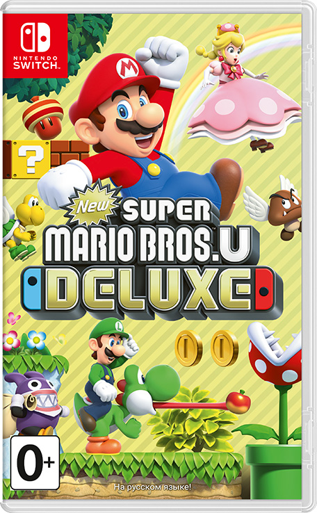 New Super Mario Bros  U Deluxe Switch NSP XCI - Switch-xci com