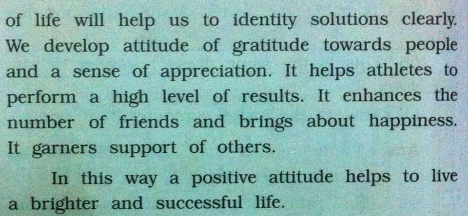 how positive attitude helps in life