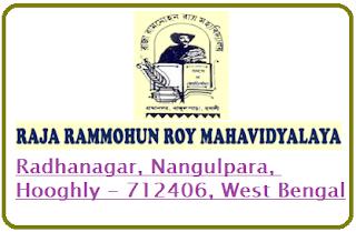Raja Rammohan Roy Mahavidyalaya, Radhanagar, Nangulpara, Hooghly - 712406, West Bengal
