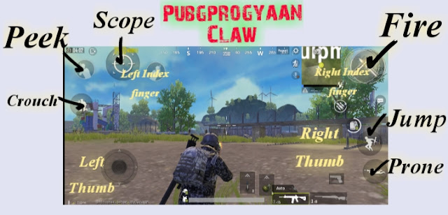Best Claw layout setup guide for Pubg Mobile