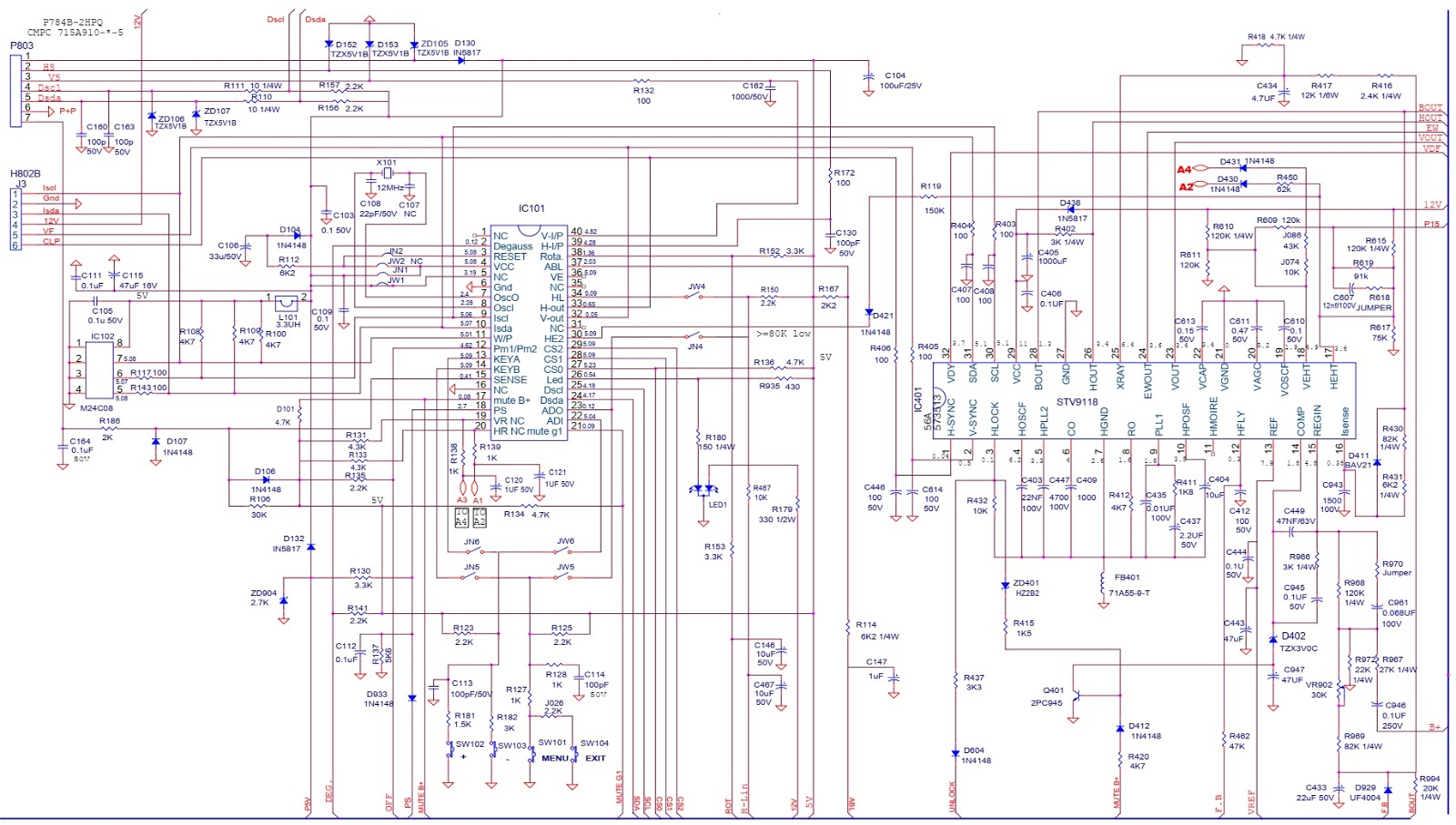 Crt Monitor Schematic Diagram on lcd diagram, cathode ray tube diagram, crt tube, crt wiring-diagram, crt screen schematic, kib monitor panel wiring diagram,