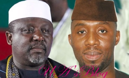 My Son-In-Law Remains Imo APC Guber Candidate, Nobody Can Stop Him — Okorocha Attacks Oshiomhole