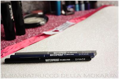 Matita automatica eyeliner kajal DIVAGE  - StayGlam Collection Spring/Summer 2016