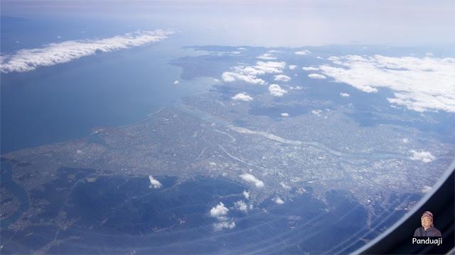 Pemandangan Jepang dari Atas