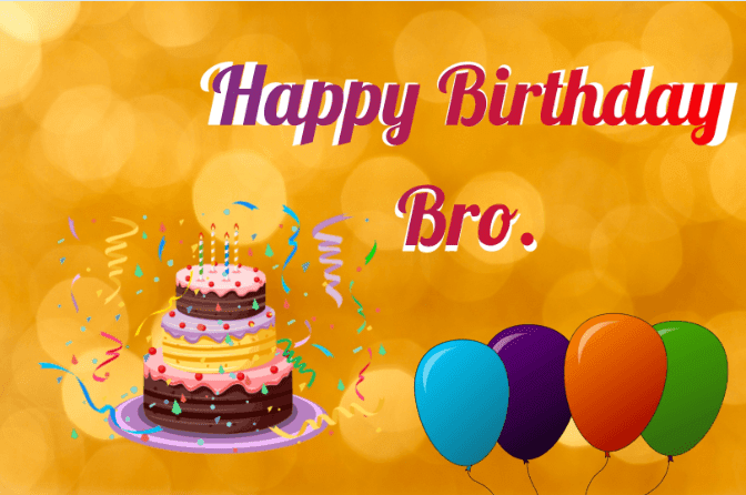 Happy Birthday Wishes Brother Quotes SMS Images Message
