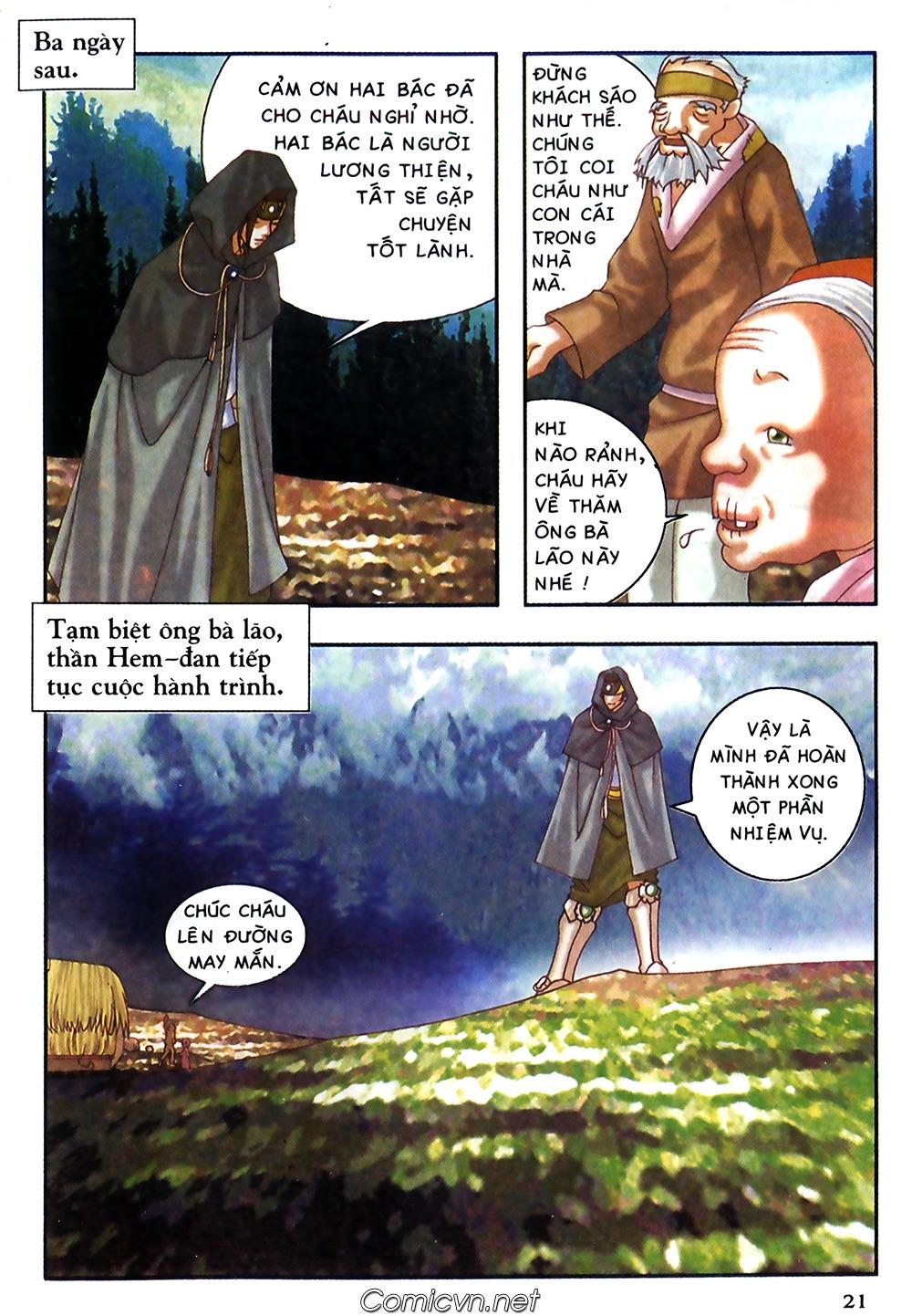 Thần thoại Bắc Âu - Chapter 38: Sứ mệnh đặc biệt - Pic 22