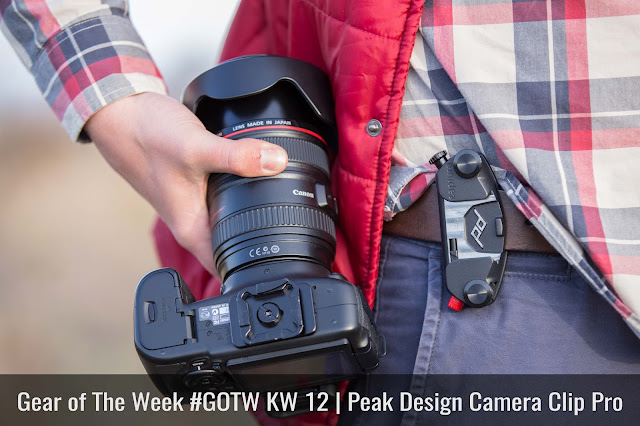 Gear of The Week #GOTW KW 12  Peak Design Camera Clip Pro 01