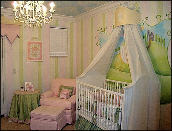 Princess Bedroom Fairytale Theme Decorating Ideas