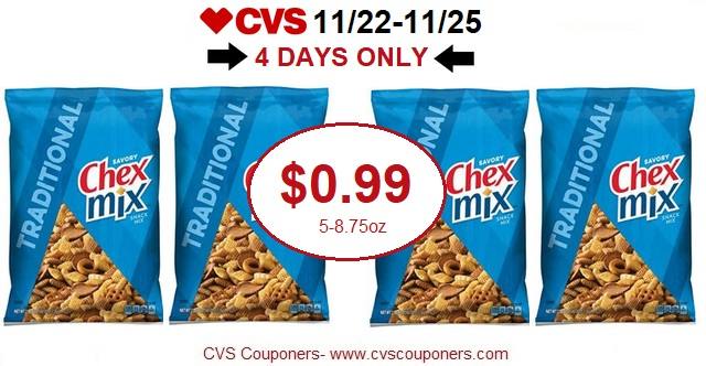 http://www.cvscouponers.com/2017/11/hot-pay-099-for-chex-mix-at-cvs-4-days.html