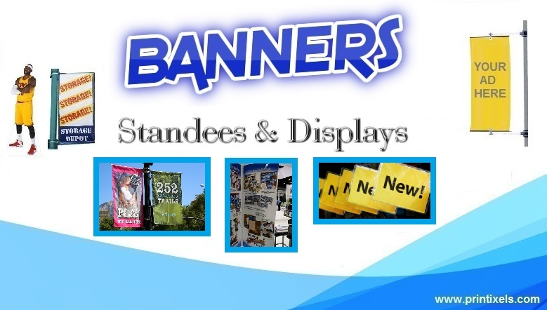 Banners, Standees & Displays - Printing & Installation