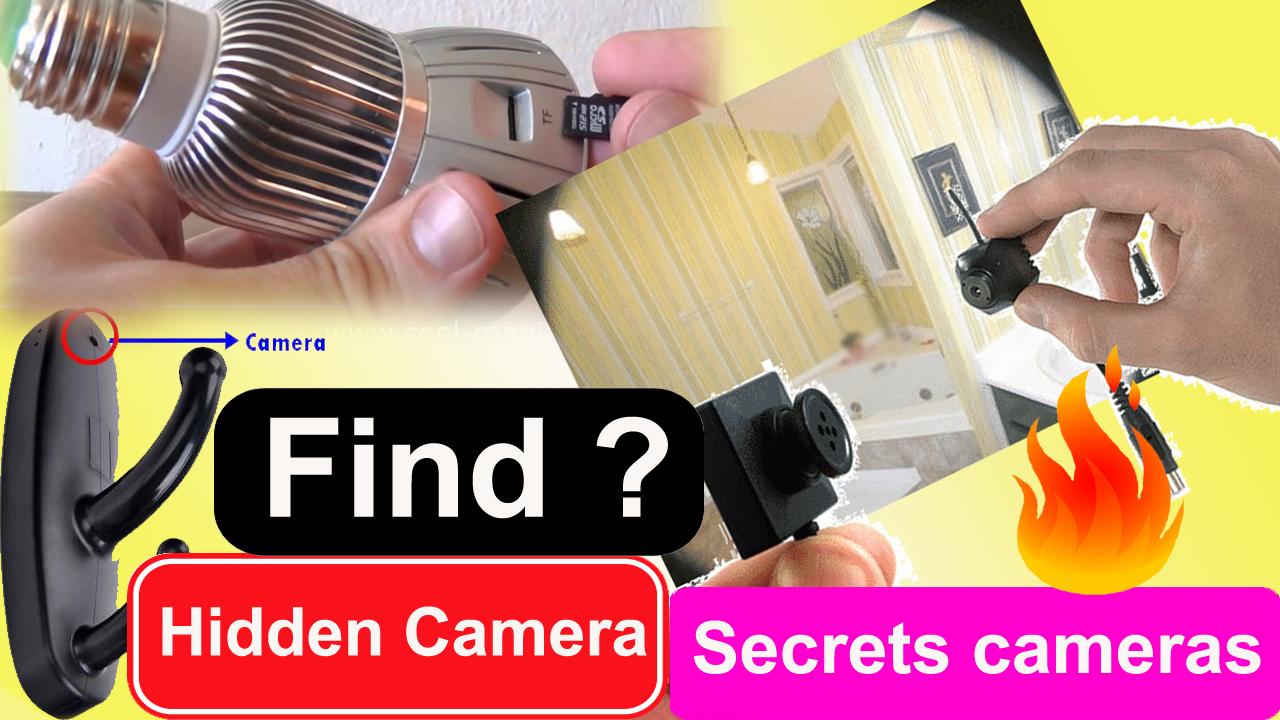 Detect hidden camera app android - How to Find Hidden Cameras