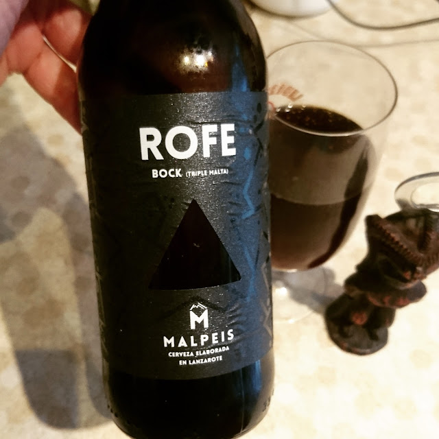 Lanzarote Craft Beer Review: Rofe Bock from Malpeis