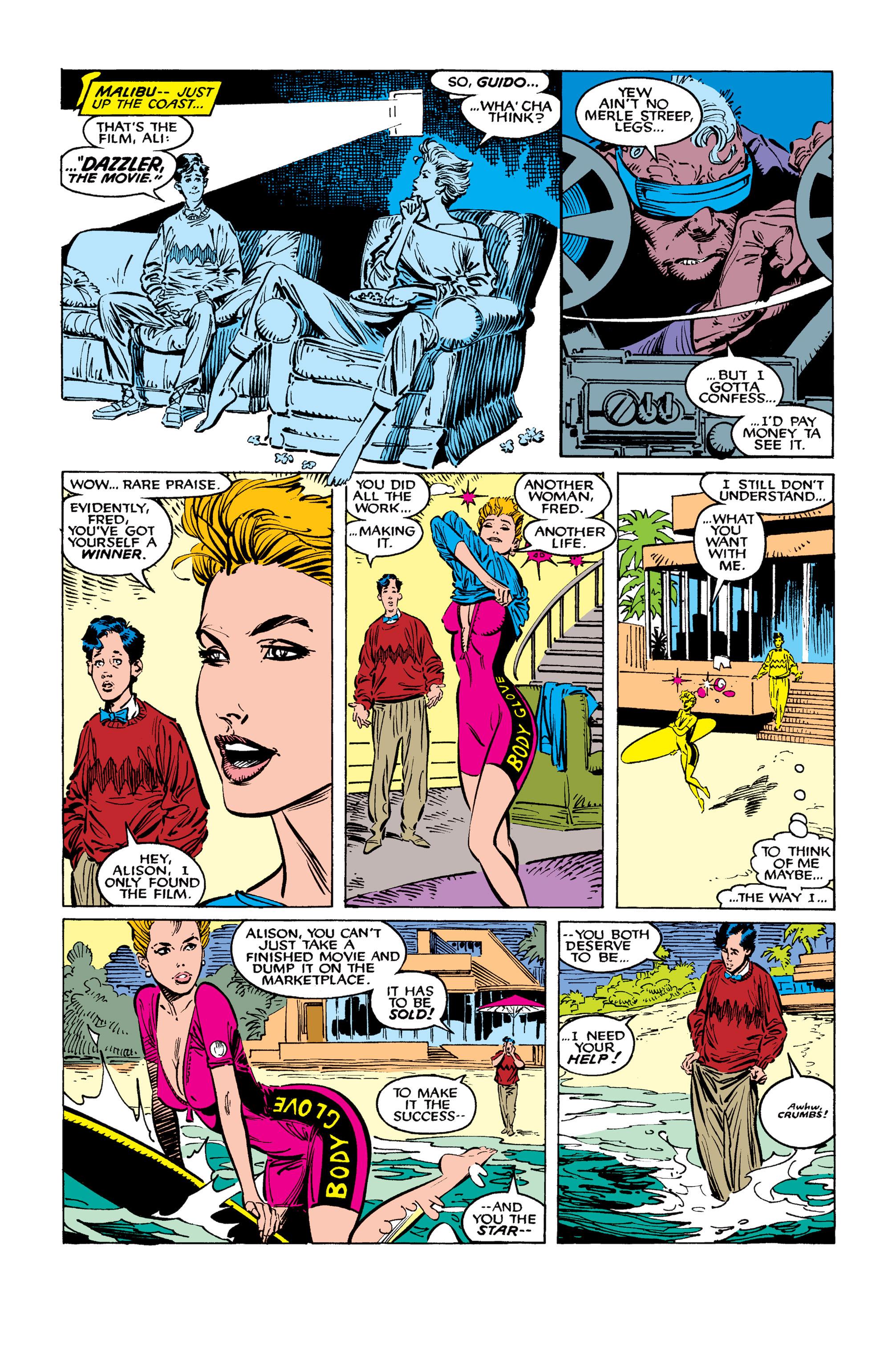 Read online Uncanny X-Men (1963) comic -  Issue #260 - 5