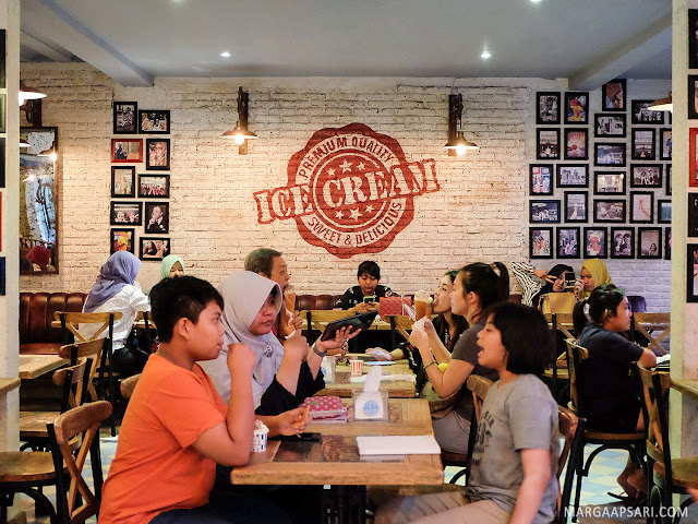 Suasana Tempo Gelato Yogyakarta