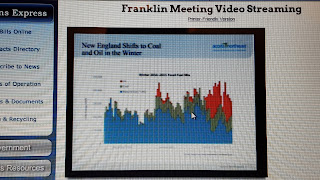 screen grab of one of the slides from the Spectra Energy presnetayion