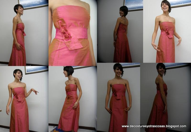 Quiero hacer un vestido de noche
